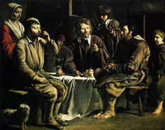 The peasant's meal - Le Nain brothers