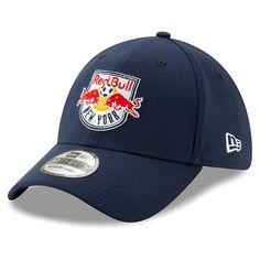 Men s New York Red Bulls New Era Navy Team Logo 39THIRTY Flex Hat 52a5bc146d5