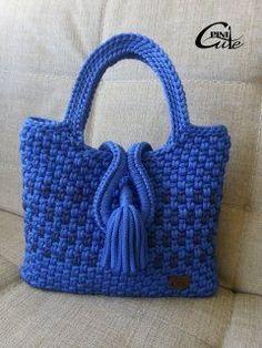Letras e Artes da Lalá: Bolsas de tricô e crochê (fotos: google)