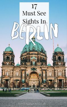 Take your trip with Glamulet Sights You Need To See On A First Time Visit To Berlin, Germany - Hand Luggage Only - Travel, Food Backpacking Europe, Europe Travel Tips, European Travel, Travel Advice, Travel Guides, Places To Travel, Travel Destinations, Travel Sights, Travelling Europe