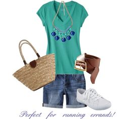 """Perfect for running errands!"" by lifeofadazzlingduck on Polyvore"