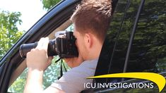 ICU Investigations specializes in surveillance! Whether it's covert video or vehicle shadowing, our private investigators possess state-of-the-art equipment and use the latest surveillance techniques. #icuinvestigations #surveillance
