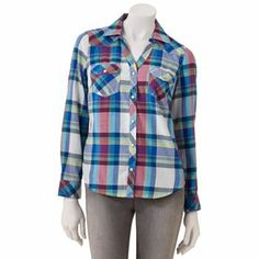 Plaid shirt.  Want the red plaid, though.