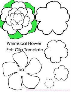30 Images of Felt Flower Template Flower Crafts, Diy Flowers, Handmade Flowers, Fabric Flowers, Flower Svg, Flower Applique, Flowers In Hair, Felt Flower Template, Felt Flower Tutorial