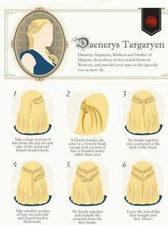 Khaleesi's braids
