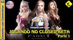 CABAL 2 GAMEPLAY - Primeiro acesso ao Closed Beta (NA) com a PRIEST