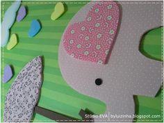 Stúdio E.V.A.: Elefantinha muito charmosa, chegando ...