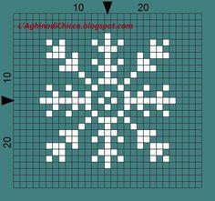 snowflake x-stitch