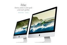 """NEU: Apple veröffentlicht neue Retina iMacs 2015 mit Skylake Prozessoren - https://apfeleimer.de/2015/10/neu-apple-veroeffentlicht-neue-retina-imacs-2015-mit-skylake-prozessoren - Apple hat heute neue 4K Retina iMacs mit neuen Intel Skylake Prozessoren vorgestellt. Der neue Leitspruch für die neuen 4K 21,5 Zoll Retina iMacs: """"iMac. Retina. Jetzt in sehr groß und noch größer"""". Bevor wir hier auf die Details und Preise der neuen Apple iMac 2015 eingehen möchte"""