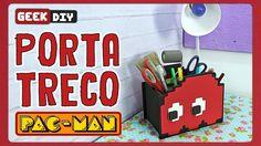 Porta Treco Pac-man   DiY Geek