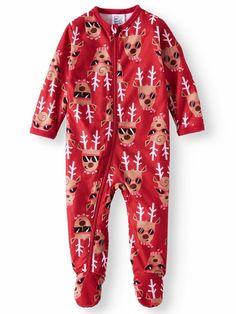 Holiday Family Sleep Reindeer Blanket Sleeper (Baby Boys or Baby Girls  Unisex)  fashion cce5d9ff7