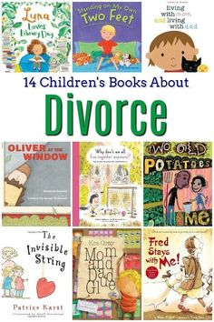 14 Children's Books About Divorce - Feminist Books for Kids 14 Children's Books About Divorce - Divorce is hard for everyone involved, but it's especially hard for kids. These children's books about divorce make those tough conversations easier. Best Children Books, Toddler Books, Helping Children, Childrens Books, Children Stories, Children Play, Divorce Books, Divorce And Kids, Children's Books About Family
