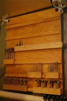 Drill bit rack
