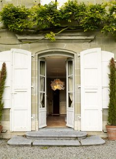double doors & shutters