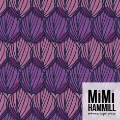 Mimi Hammill - Thatch | Make it in Design | Module 3 - Monetising your designs | The Art and Business of Surface Pattern Design | Pattern Design Showcase | September 2015
