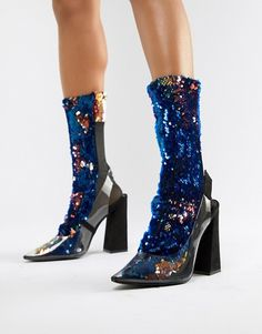 Find the best selection of ASOS DESIGN color block sequin sock. Shop today with free delivery and returns (Ts&Cs apply) with ASOS! Sneakers Mode, Sneakers Fashion, Asos, Trainer Boots, Socks And Heels, Tim Mcgraw, Heeled Loafers, Shoe Art, Fashion Over 50