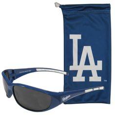 Los Angeles Dodgers Sunglass and Bag Set