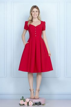 Modest Dresses in all colors Modest Dresses Casual, Simple Dresses, Pretty Dresses, Beautiful Dresses, Summer Dresses, Vestidos Vintage, Vintage Dresses, Modest Fashion, Fashion Dresses