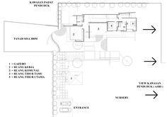 Gallery of House In Nursery / Wahana Cipta Selaras Architecture - 14