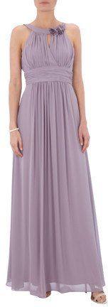 Pin for Later: 50 elegante, bodenlange Abendkleider unter 100 €  Jake*s bodenlanges Abendkleid aus Chiffon mit Collierkragen (ursprünglich 120 €, jetzt 90 €)