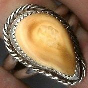 elk ivory ring i have my elk ivory, not getting used :(