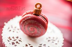 Christmas Cookie Ornaments-Macaron
