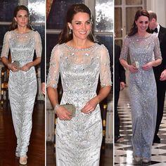 Duchess Kate makes a stunning statement in #Paris today ☘ pics via @dailymailuk