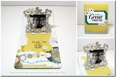 Sizzix Pop `n Cuts Magnetic Insert Die Frame, Square Ornate 3-D (Pop-Up) #658045 - new release, October 2012.