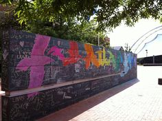 public chalkboard, Charlottesville VA