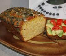 Recipe Pumpkin, Zucchini & Almond Loaf (gluten, dairy & sugar free) by ClaireT - Recipe of category Baking - Paleo savoury Bread Sugar Free Recipes, Almond Recipes, Pumpkin Recipes, Gluten Free Recipes, Diabetic Recipes, Easy Recipes, Foods With Gluten, Sans Gluten, Cooking Bread