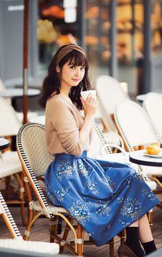 beautiful, sasaki nozomi, and girl image Fashion Pants, Love Fashion, Korean Fashion, Autumn Fashion, Fashion Outfits, Japan Fashion, Kawaii Fashion, Lolita Mode, Stylish Summer Outfits