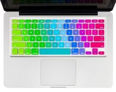 """Kuzy - Newest Rainbow Keyboard Cover Silicone Skin for MacBook Pro 13"""" 15"""" 17"""" (with or w/out Retina Display) iMac and MacBook Air 13"""" - Newest Rainbow:Amazon:Computers & Accessories https://www.amazon.com/gp/product/B00HUFJDUG/ref=as_li_qf_sp_asin_il_tl?ie=UTF8&tag=23008-20&camp=1789&creative=9325&linkCode=as2&creativeASIN=B00HUFJDUG&linkId=301ec312430f498ef9f4b452bb5797f6"""