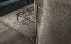 Velaria sliding door from Pure Interiors by Rimadesio.