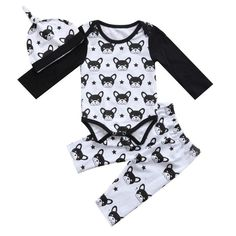 Fashion Cotton Solid Newborn Kids Baby Boys Romper Jumpsuit Playsuit Outfits Newest Autumn Clothes 0-24m Good Companions For Children As Well As Adults Boys' Baby Clothing