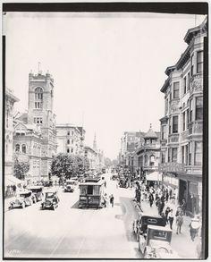 K St., Sacramento, 1924.