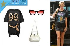 Miley Cyrus | StyleCard Fashion Portal  http://style-card.co.uk/portal/2013/08/get-the-look-miley-cyrus-4/