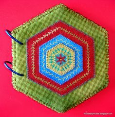 Moose Bay Muses: Stitch Society Hexagons stitch book