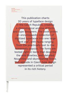 """slapdashing: """"garadinervi: Typo 9010. České digitalizované písmo 1990–2010,… typophile """""""