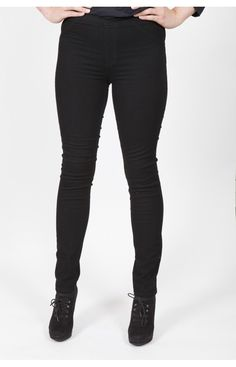 PERUZZI SKINNY JEANS (IN BLACK AND NAVY)