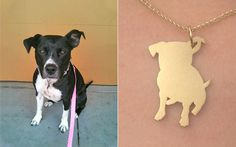 DIY Dog Necklace. Shrinky dink!