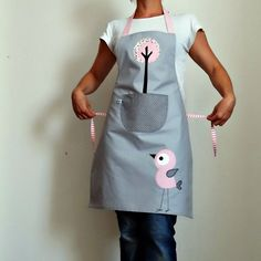 Wire Crafts, Apron, Sewing Projects, Applique, Pattern, Fashion, Maternity Outfits, Aprons, Dish Towels