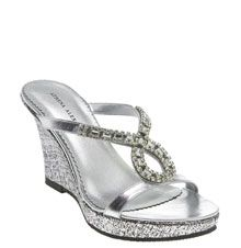 Nordstrom rhinestone sandals on Stylehive. Shop for recommended Nordstrom rhinestone sandals by Stylehive stylish members. Get real-time updates on your favorite Nordstrom rhinestone sandals style. Silver Wedding Shoes, Wedge Wedding Shoes, Silver Shoes, Wedge Shoes, Shoes Heels, Wedding Wedges, Bling Wedding, Wedge Sandals, High Heels