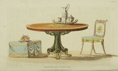 EKDuncan - My Fanciful Muse: Regency Furniture 1823-1828: Ackermann's Repository Series 3