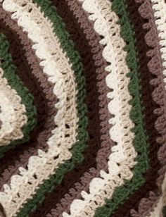 Yarnspirations.com - Caron Earthly Tones Octagonal Afghan  - Patterns  | Yarnspirations