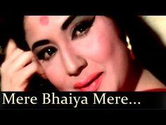 Raksha Bandhan song- This is the day that every brother and sister waits for the whole year. Bahi ties a beautiful rakhi on her brother's wrist. Raksha Bandhan Songs, Raaj Kumar, Hindi Old Songs, Latest Bollywood Songs, Asha Bhosle, Song Status, Hit Songs, Rakhi, Her Brother