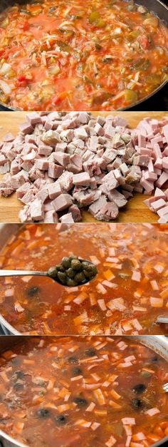 Как приготовить солянка сборная мясная - рецепт, ингридиенты и фотографии