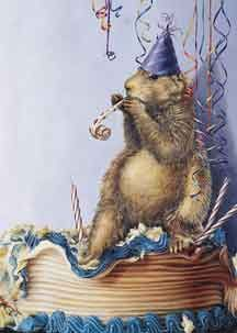 groundhog birthday painting - Google Search