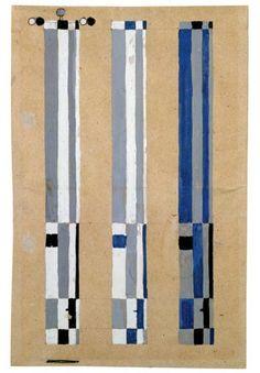 Josef Albers- Three Designs for a Flag for the Bauhaus Exhibition 1923 Art… Josef Albers, Anni Albers, Bauhaus Textiles, Gouache, Moholy Nagy, Motif Vintage, Abstract Geometric Art, Bauhaus Design, Art Plastique