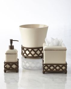 Ogee-G Tumbler, Ivory - GG Collection