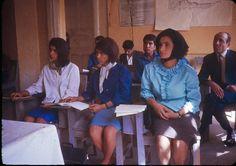 Los otros árabes - Estudiantes en la Escuela de Profesorado en Kabul (Afganistán) en 1967 (Bill Podlich).